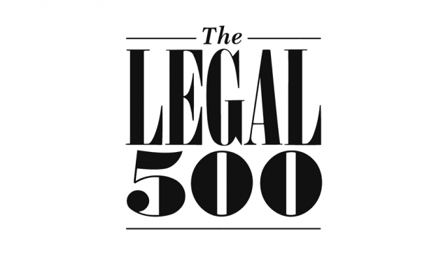 The Legal 500 EMEA 2020 recommended BRANDSFIELD's partner for intellectual property